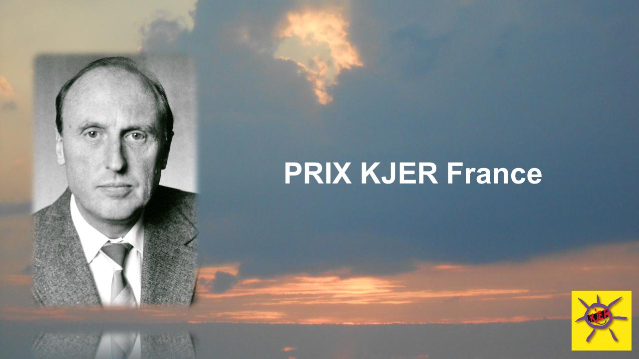 Appel à candidature du Prix KJER France 2020